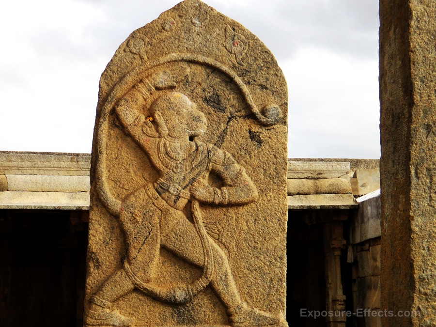 Lepakshi temple photos-hanuman-ji