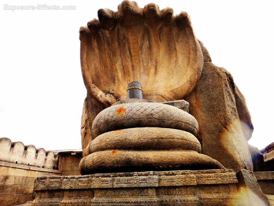 Lepakshi temple photos-shiva-linga-naag