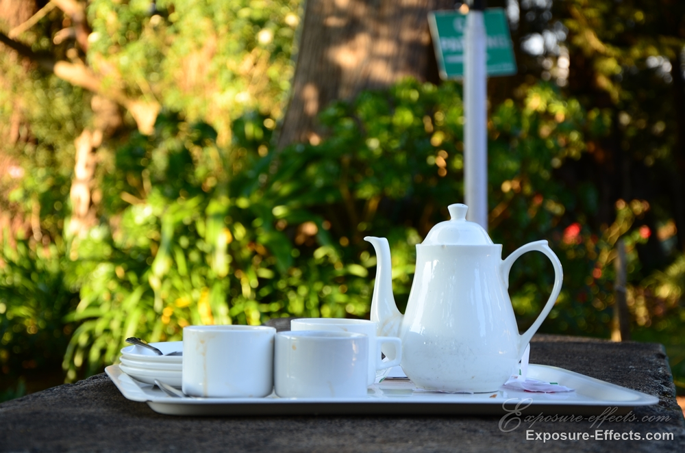 Glyngarth Villa Heritage Resort-Ooty India-Morning Tea
