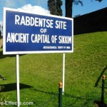 The Rabdantse Ruins ancient capital of Sikkim