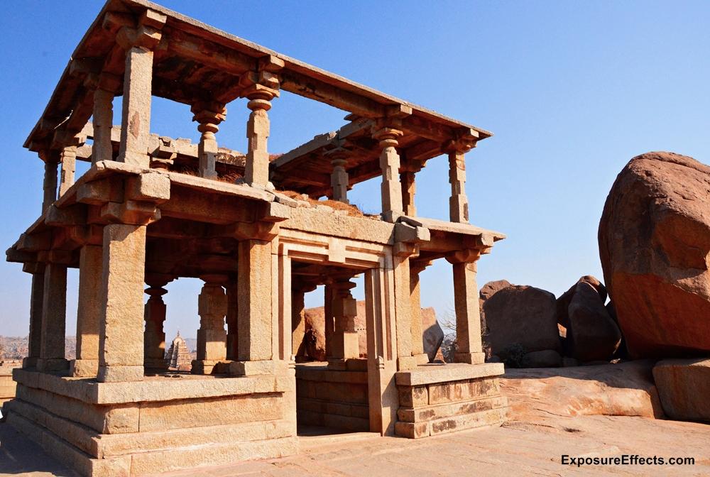 Hampi Karnataka India - temple ruins