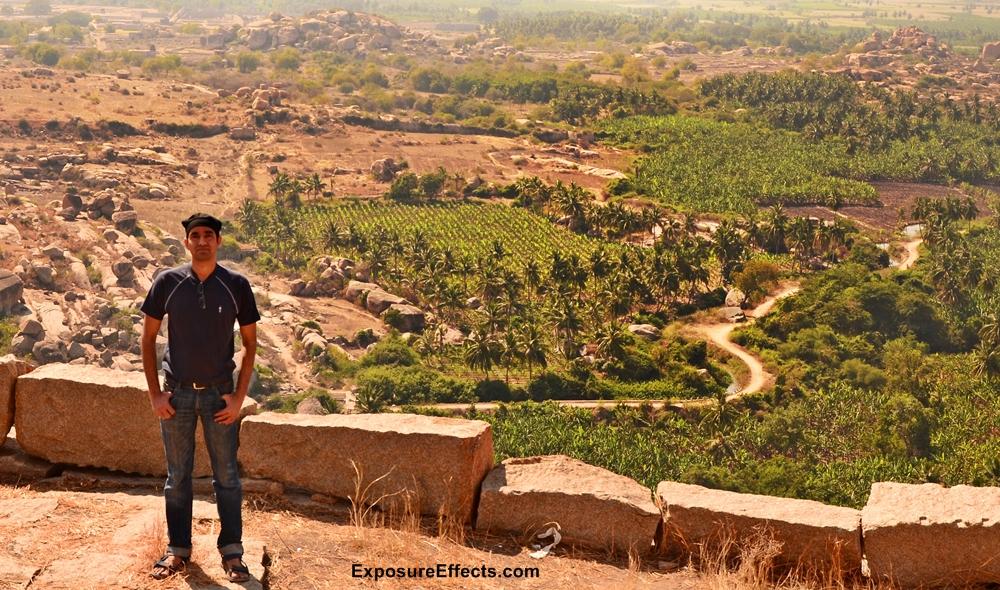 Hampi Rocky Landscapes Karnataka India