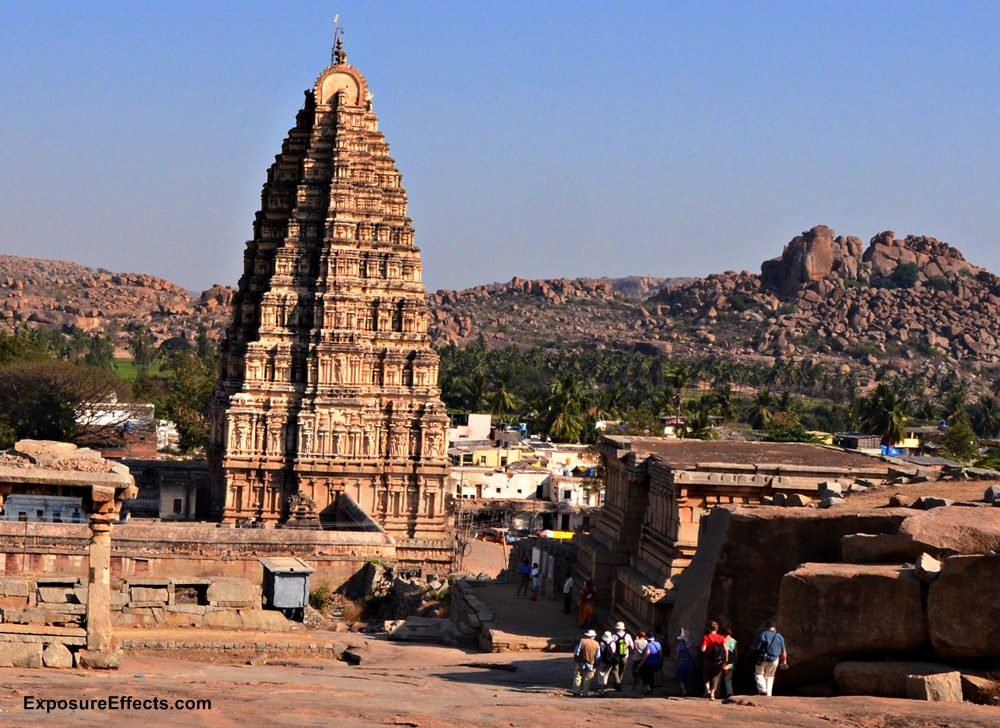 Virupaksha Temple Hampi Karnataka India