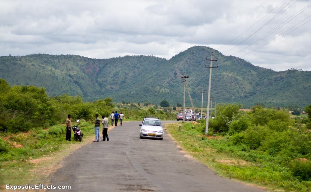 Way to Shivasamudram Bharachukki Falls