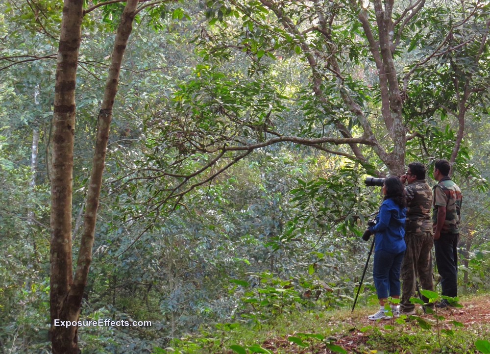 Fellow Bird Watchers at Old Magazine House in Dandeli