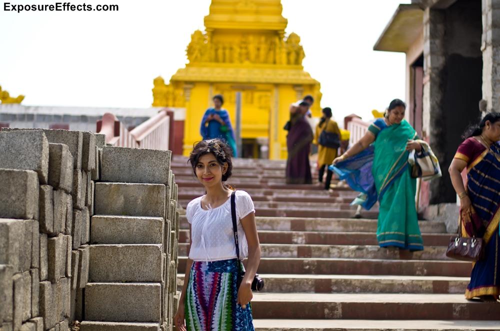 At Himavad Gopalaswamy Temple - Chamarajanagar - Karnataka