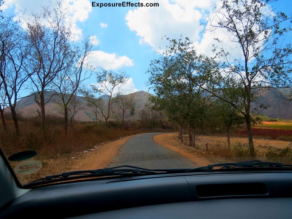 Towards Himavad Gopalaswamy Temple Hills - Chamarajanagar - Karnataka