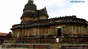 Sharadamba Temple at Sringeri IN Chikmagalur