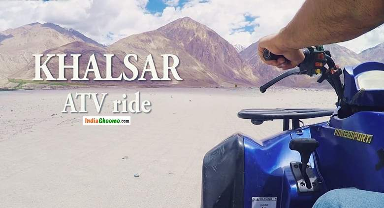 Ladakh ATV Ride Khalsar Nubra Valley