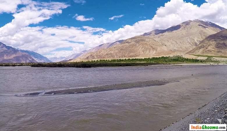 Ladakh River Shoyok