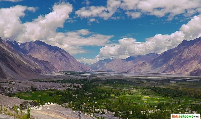 Nubra Valley view from Diskit