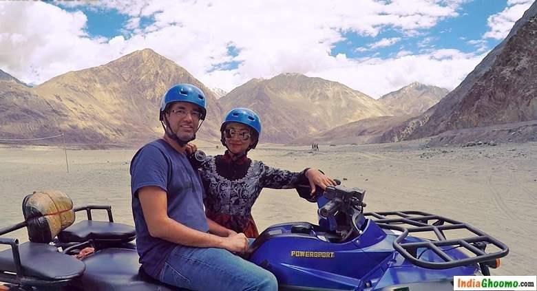 Ladakh ATV Ride Hunder