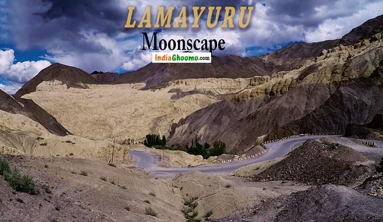 Ladakh Lamayuru Moonscape