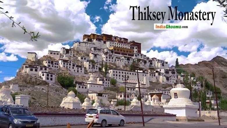 Thiksey Monastery Leh Ladakh