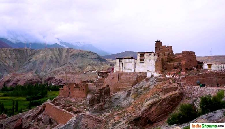 Ladakh Basgo Monastery and Palace