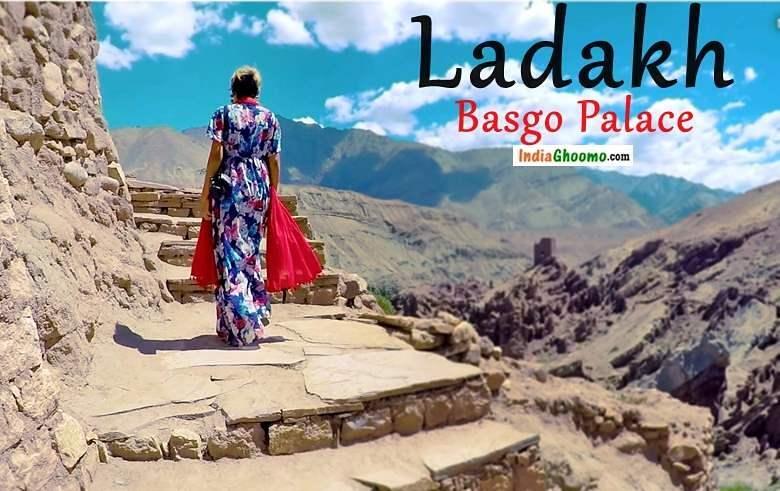Ladakh India Ghoomo Basgo Palace