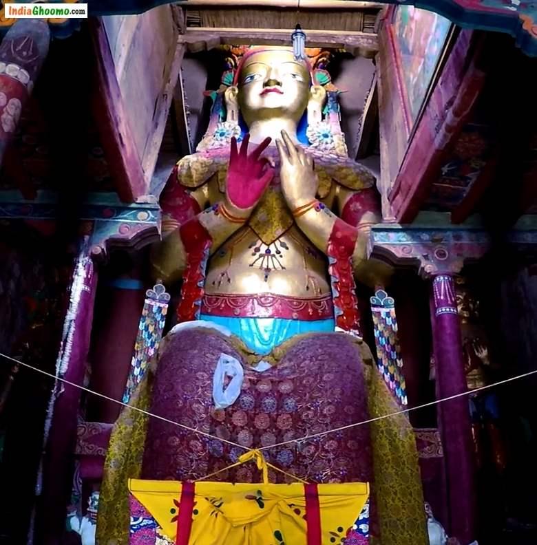 Ladakh Basgo Monastery Chamba Maitreya