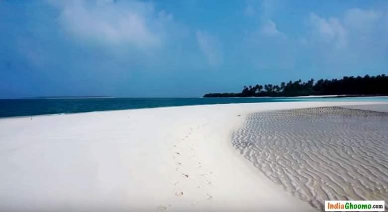 Lakshadweep White Sand