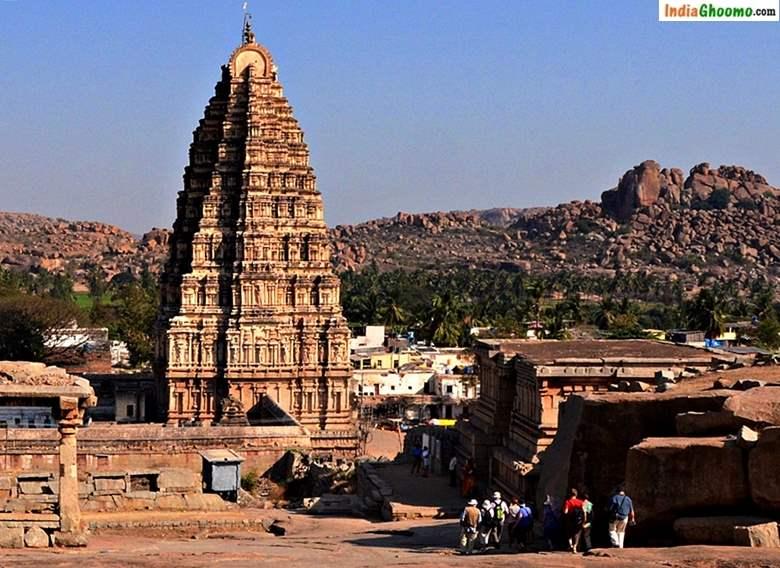 Virupaksha Temple Hampi Karnataka