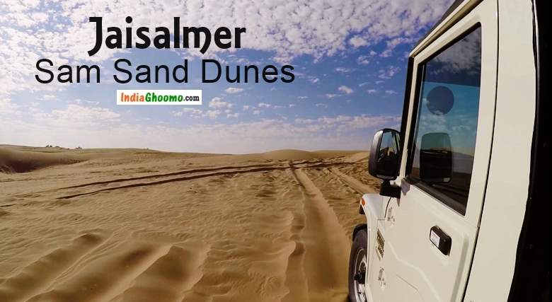 Jaisalmer - Thar Desert Safari Dune Bashing at Sam Sand Dunes