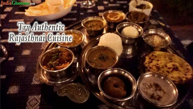Rajasthani Thali Cuisine