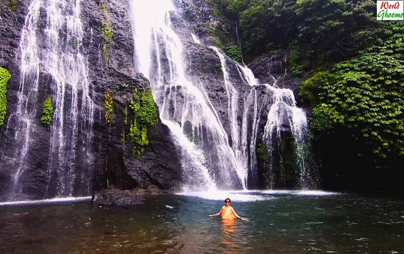 Bali Waterfall Banyumala Waterfall swimming