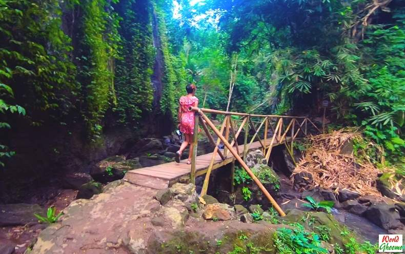 Hike towards Tibumana Waterfall Bali