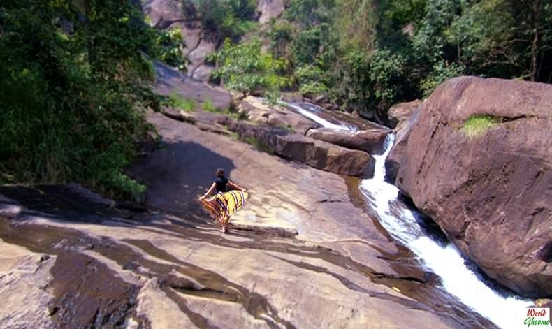 Meenmutti Waterfall Wayanad