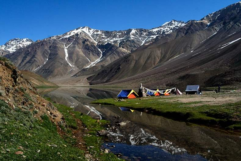 Camping Banned near Chandratal Lake Spiti Valley