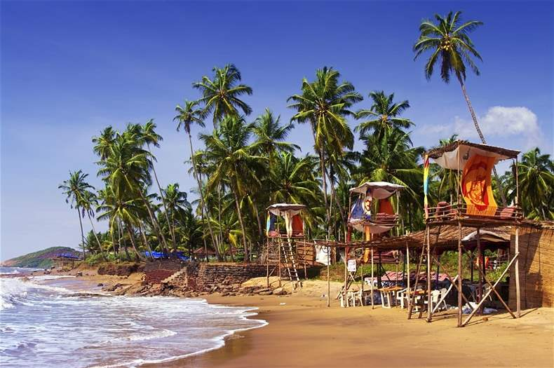 Goa Tourist Beaches
