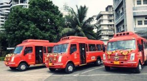 Mumbai - BEST launches AC Mini Buses