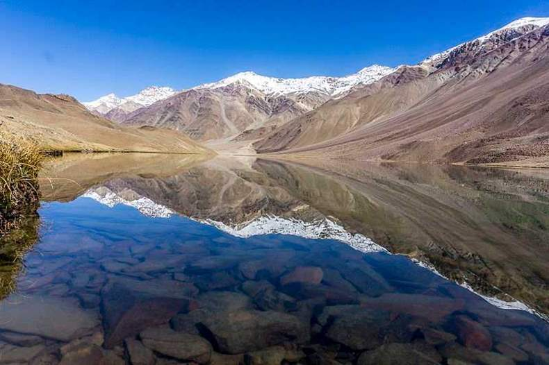 No Camping near Chandratal Lake Spiti Valley