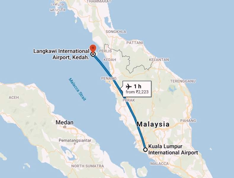 How to Reach Langkawi