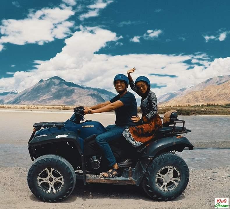 ATV Ride at Khalsar Nubra Valley