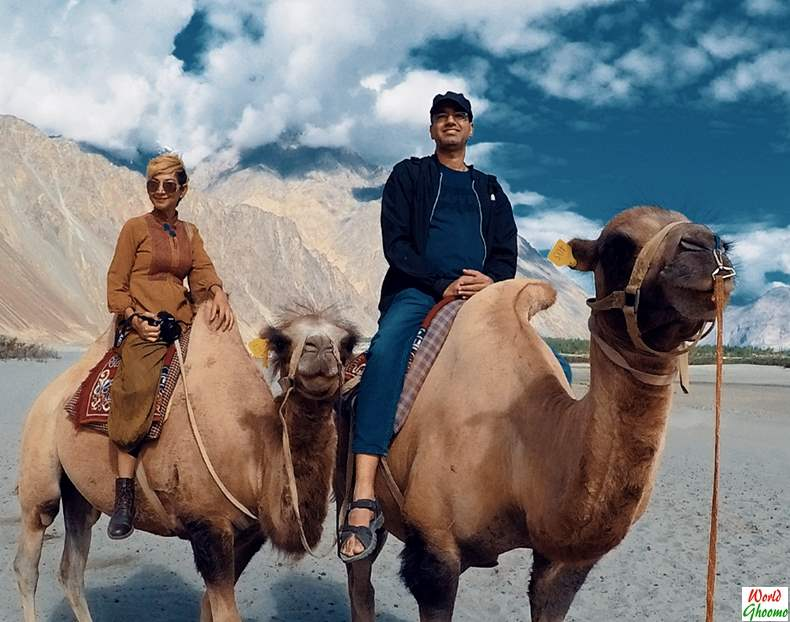 Camel Safari in Hunder Nubra Valley